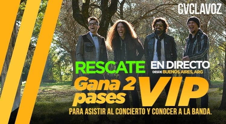 Gana 2 Pases VIP para conocer a Rescate