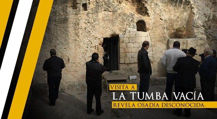 Visita a la tumba vacía revela osadía desconocida
