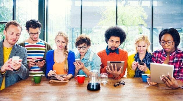 ¿Adicto a las redes sociales?