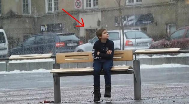 ¿Qué Harías Si Ves a Un Niño con Frío en la Calle?