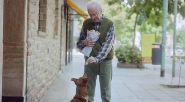 Esta conmovedora historia de un hombre y su perro nos dan una lección sobre la vida
