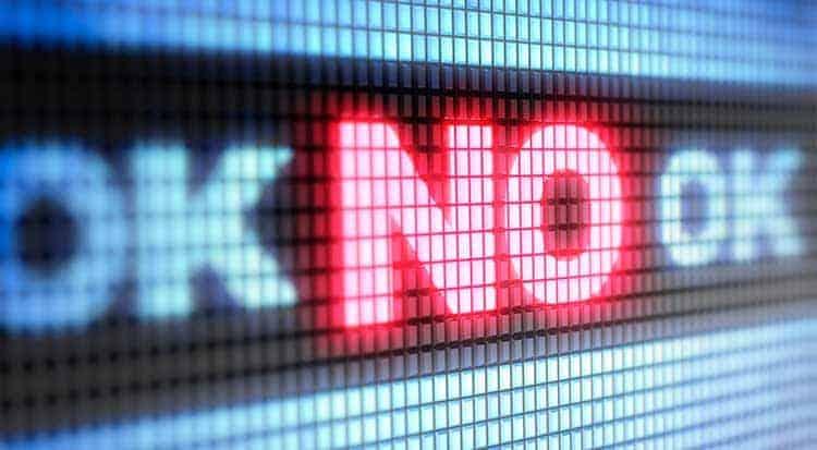 """Aceptar un """"NO"""" como respuesta"""