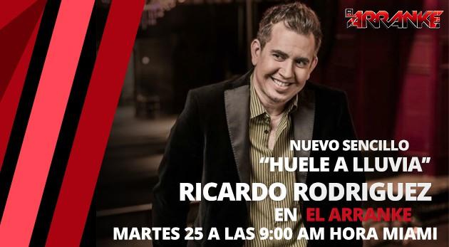 Ricardo Rodriguez, lanzamiento mundial EN EL ARRANKE