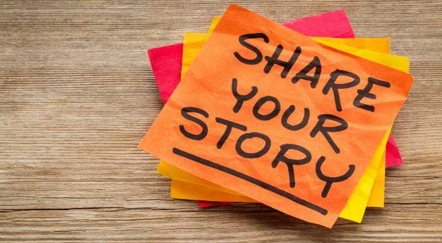 Comparte tu historia