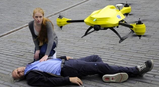 Estos drones que salvan vidas te harán emocionar...