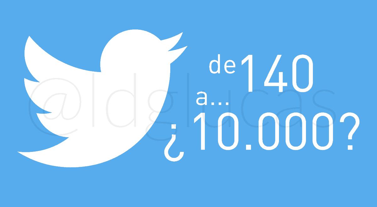 Twitter: de 140 a... ¿10.000 caracteres?