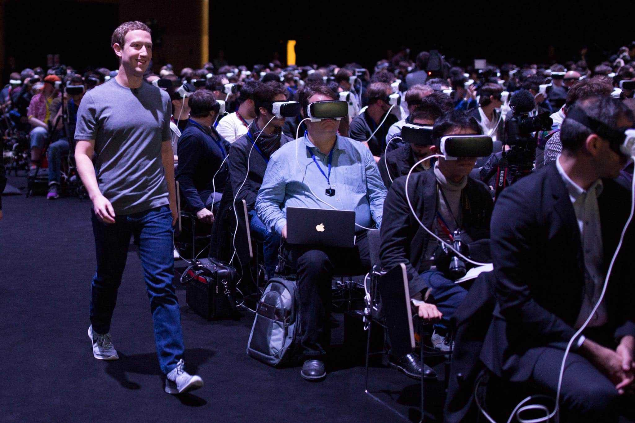 Mark Zuckerberg - Realidad Virtual - Mobile World Congress
