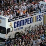 Con título de Campeo11nes el Madrid y su afición en UCL