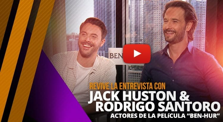 Entrevista Exclusiva con Jack Houston y Rodrigo Santoro