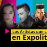 Los artistas que cantarán en Expolit 2016