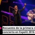 Recuento de la primera noche de concierto en Expolit 2016