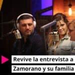 Revive la entrevista a Coalo Zamorano y su familia