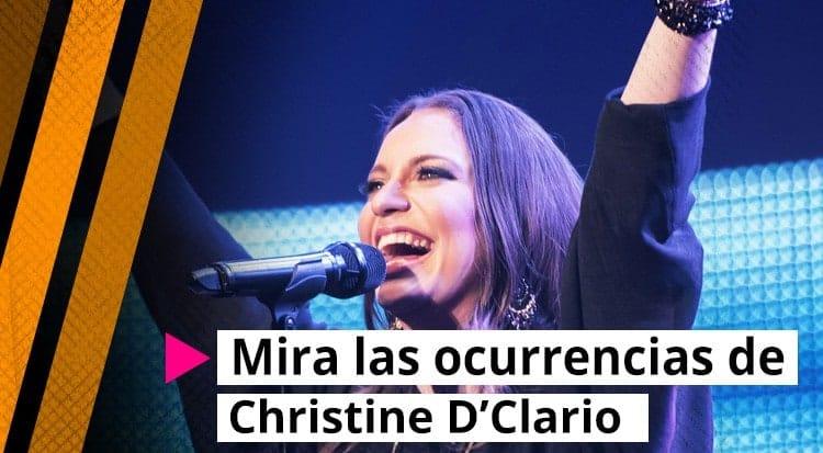 Mira las ocurrencias de Christine D'Clario