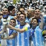 Argentina campeón mundial del Futbol Sala en Colombia