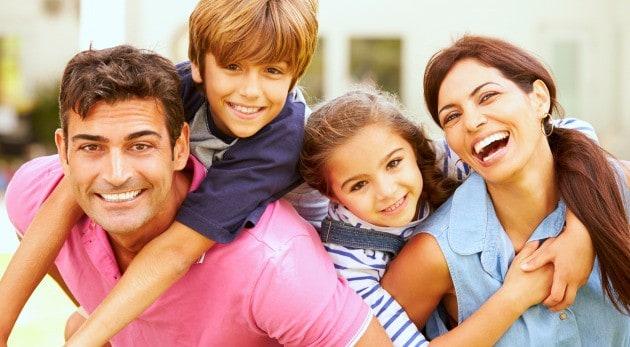 Relación padres-hijos con respeto