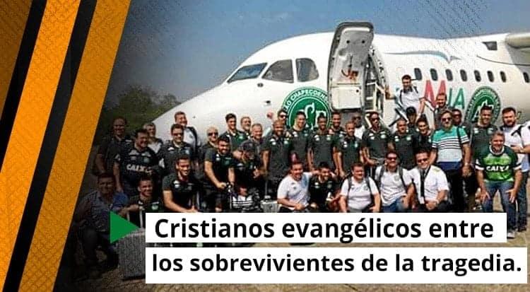 Cristianos evangélicos entre los sobrevivientes de la tragedia.