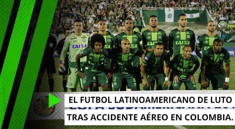 El fútbol latinoamericano de luto tras accidente aéreo en Colombia.