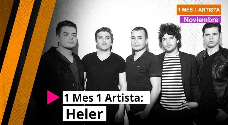 1 Mes 1 Artista: Heler