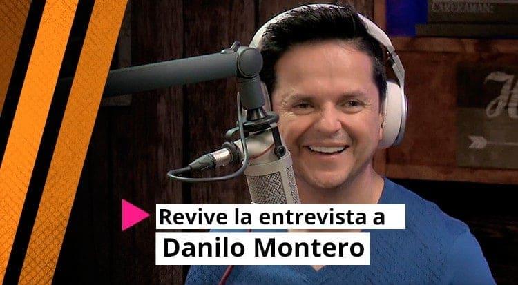 Revive la entrevista a Danilo Montero