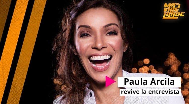 Paula Arcila en Mas Vale Tarde