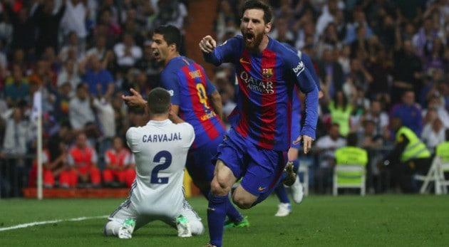 Barcelona gana al Madrid y hay Liga. Messi figura del clásico