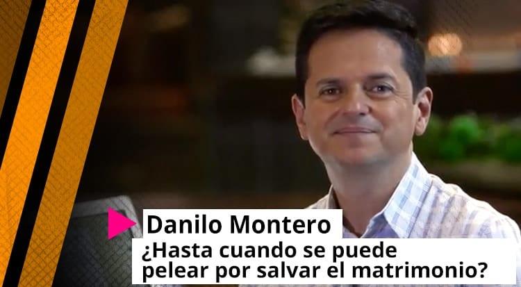 Danilo Montero: ¿Hasta cuándo se puede pelear por salvar el matrimonio?