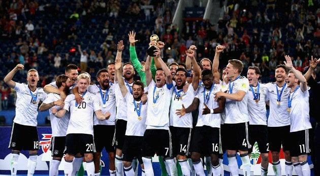 Alemania se consagra campeón de Copa Confederaciones
