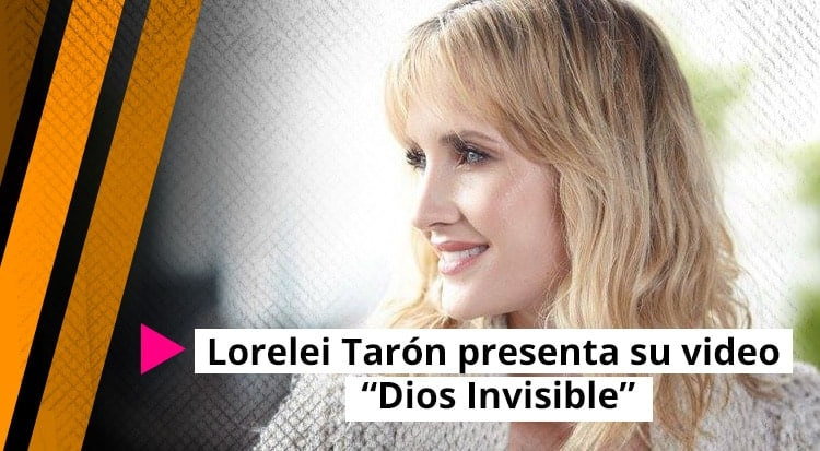 Lorelei Tarón presenta su video