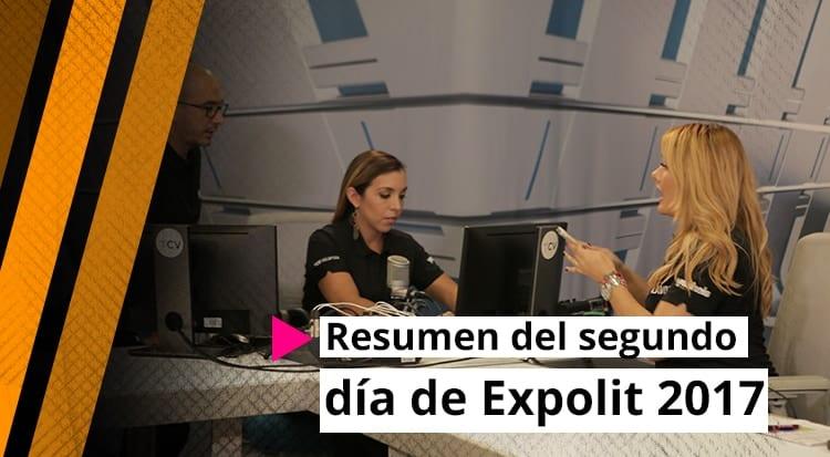 Resumen del segundo día de Expolit 2017