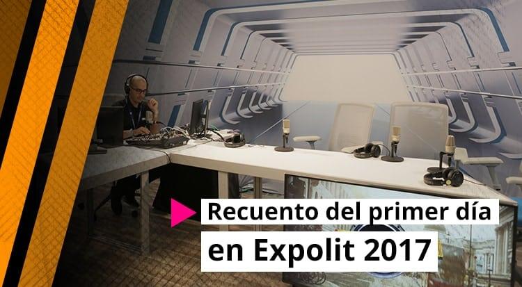 Recuento del primer día en Expolit 2017