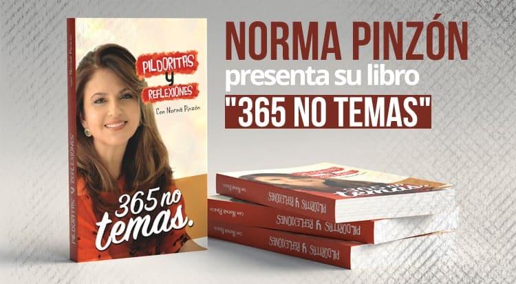 Norma Pinzón presenta su libro