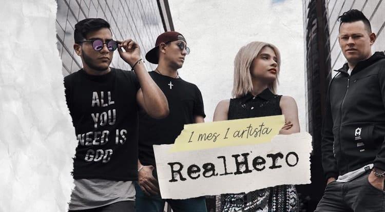 1 mes 1 artista: RealHero