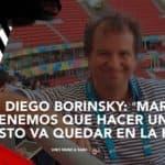 Diego Borinsky: ≪Marcelo, tenemos que hacer un libro. Esto va quedar en la historia≫
