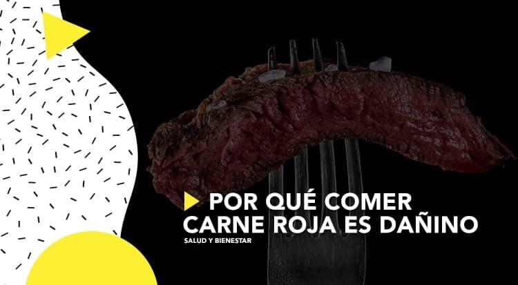 Por qué comer carne roja es dañino