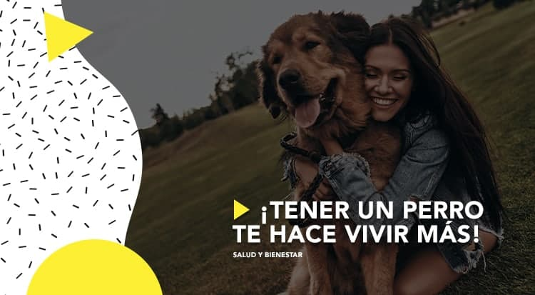 ¡Tener un perro te hace vivir más!