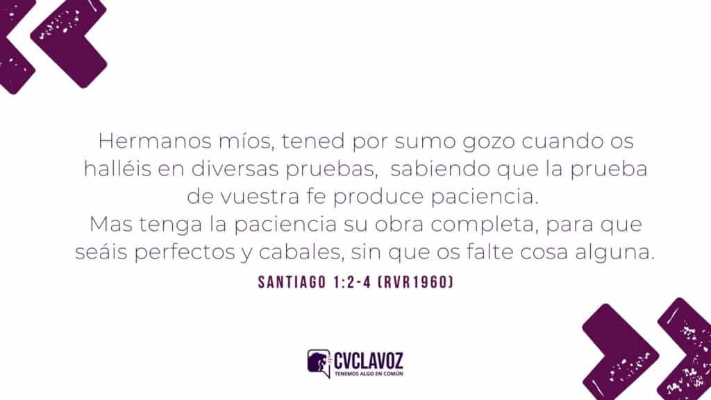 Santiago 1:2-4