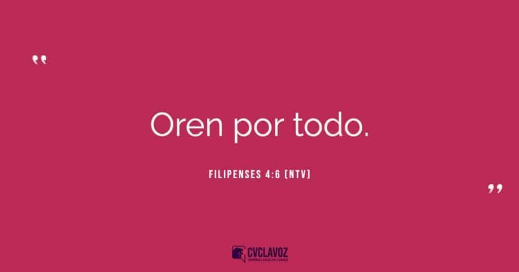 Filipenses 4:6 (NTV)