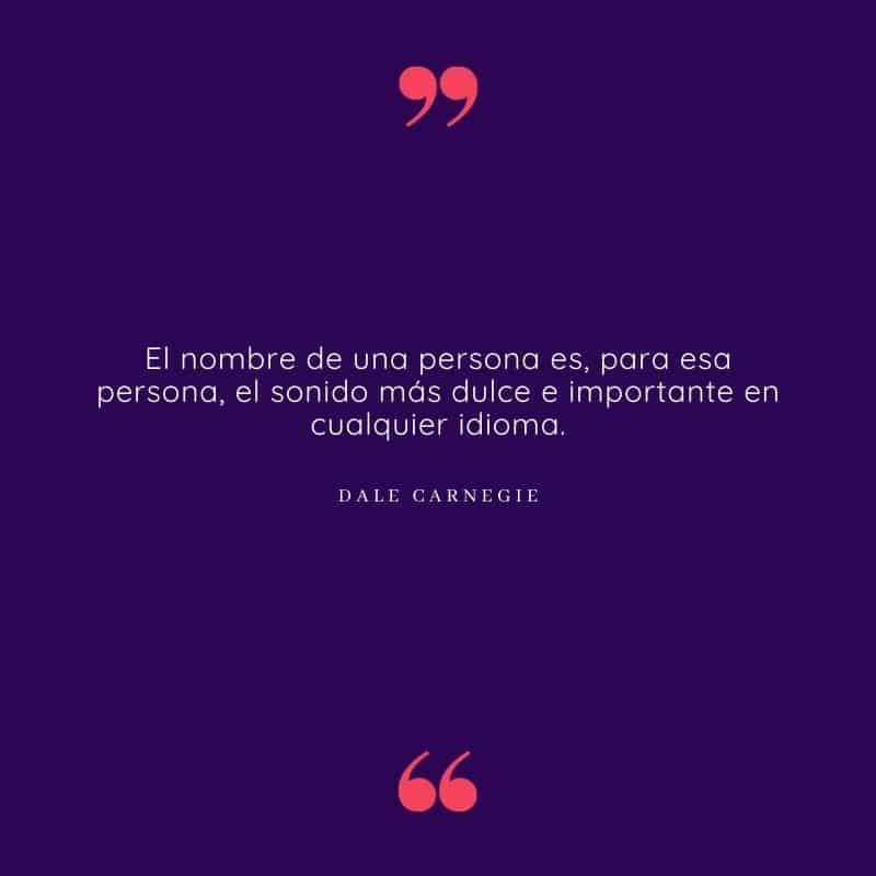 Dale Carnegie frase