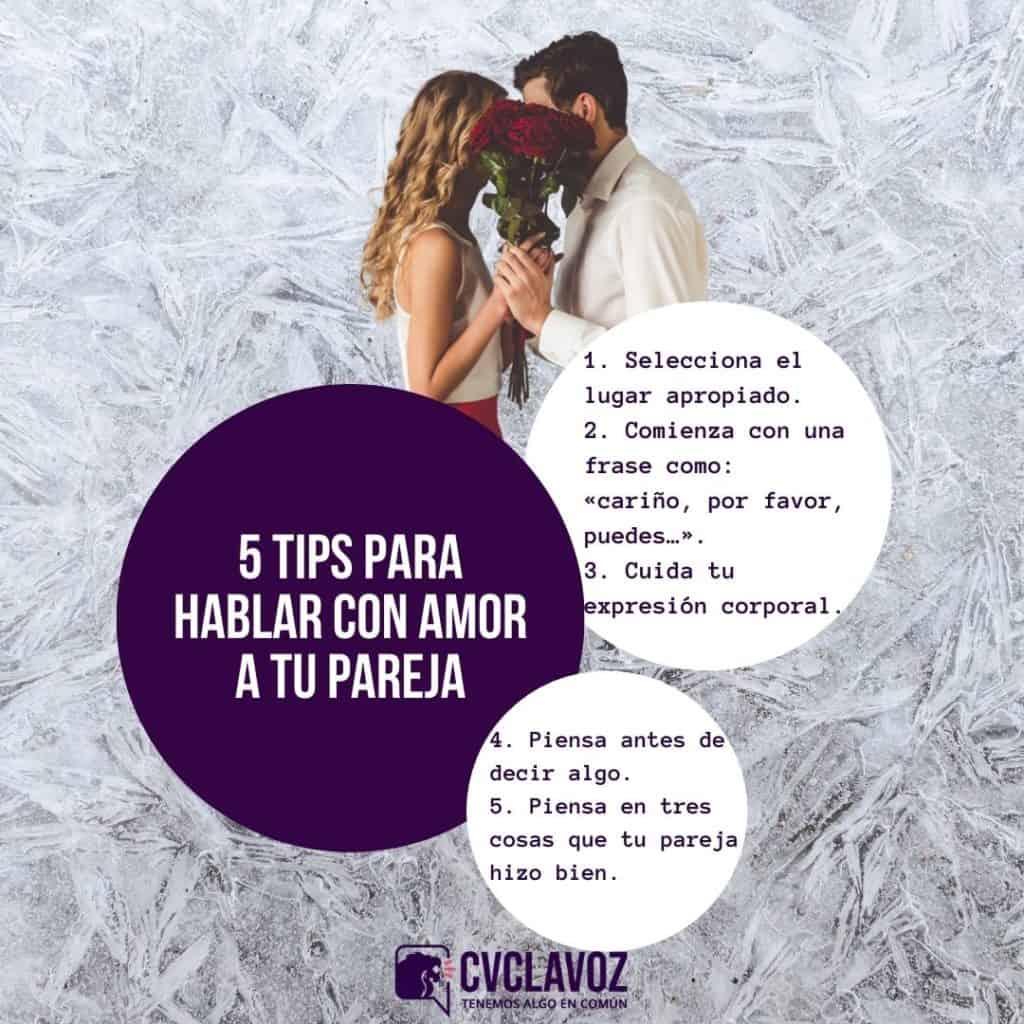 Cómo hablar con amor a tu pareja