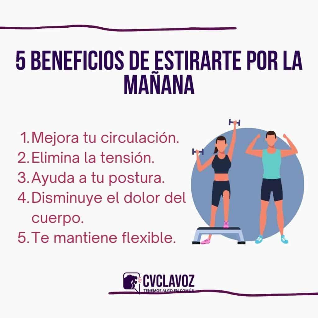 Beneficios de estirarte por la mañana