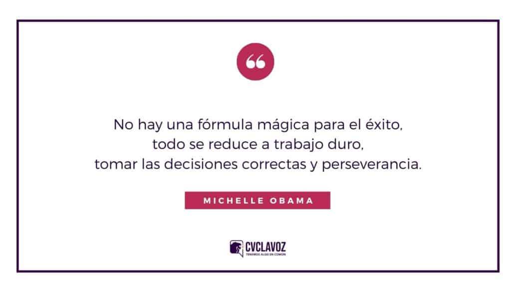 Frase de Michelle Obama