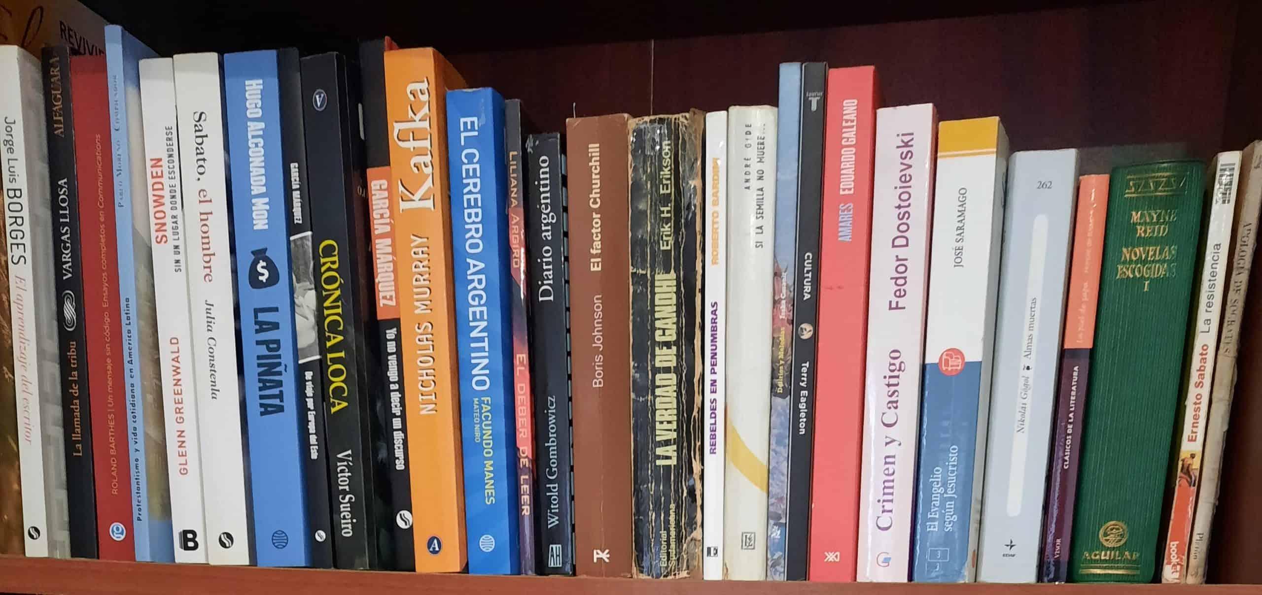 El amor por los libros y el horizonte infinito